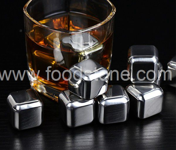 Stainless Steel Ice Cubes (16)
