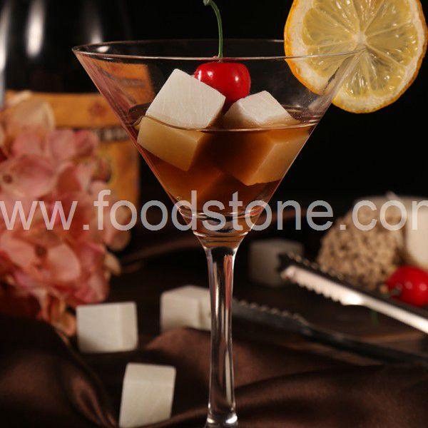 White Soapstone Whisky Stones