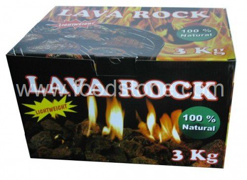 3kgs Per Box Lava Rock