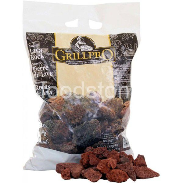 BBQ Lava Rock in Bag