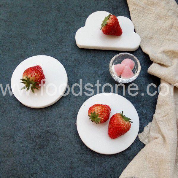 White Marble Coaster (5)