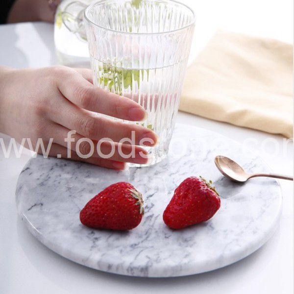 Rectangular White Marble Cutting Board (80)